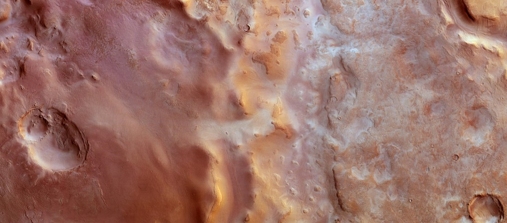 Hellas Chaos on Mars. Image Credit: ESA/DLR/FU Berlin, CC BY-SA 3.0 IGO