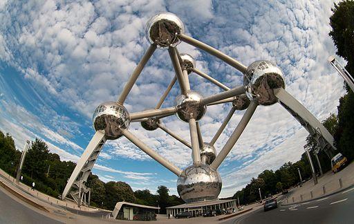 Атоміум — національний бельгійський символ і визначна пам'ятка Брюсселя. Автор: Mcsdwarken, CC BY-SA 3.0